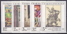 ** Tchécoslovaquie 1979 Mi 2534-8 (Yv 2360-4), (MNH)