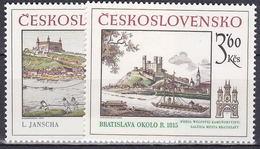 ** Tchécoslovaquie 1979 Mi 2539-40 (Yv 2365-6), (MNH)