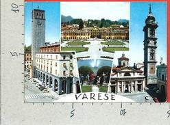 CARTOLINA VG ITALIA - VARESE - Panorama - Vedutine - Basilica - 10 X 15 - ANN. 1968 - Varese