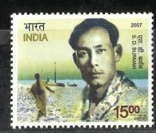 INDIA, 2007,  S D  Burman, Birth Centenary, (Singer And Composer), MNH,(**) - Musica