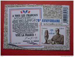 F4493 APPEL DU 18 JUIN 1940. - Bloc De Notas & Hojas