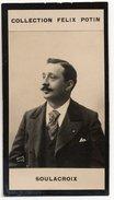Collection Felix Potin - 1898 - REAL PHOTO - Soulacroix, Artiste Lyrique, Baryton - Félix Potin