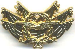 INSIGNE ARMEE DE L'AIR BREVET COMMISSAIRE AIR NIVEAU 1 HOMOLOGUE GS 268 ETAT EXCELLENT - Armée De L'air