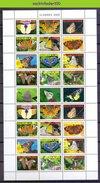 Ndr1499VBPc FAUNA VLINDERS BUTTERFLIES SCHMETTERLINGE MARIPOSAS PAPILLONS SURINAME 2008 PF/MNH - Vlinders