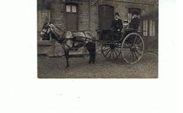 10.. CARTE PHOTO M. POINCOT DE TROYES  1908 A M. JARLAT CHAMPIGNONNISTE A SENS - Troyes
