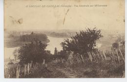 LOUPIAC DE CADILLAC - Vue Générale Sur La Garonne - Sonstige Gemeinden