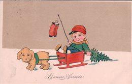 Bonne Année, Jouets Et Enfant Litho (2060) - New Year