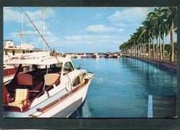 CPM Format CPA - Yachts And Royal Palms, PALM BEACH - Palm Beach