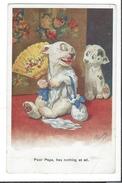 16730 - Dog Bonzo Poor Papa Has Nothing At All - Chiens