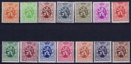 Belgium: OBP Nr 276 - 288A  MNH/**/postfrisch/ Neuf Sans Charniere 1929 - Belgique