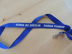 X COLLARINO BADGE PORTACHIAVI LACCETTO GIRO DI SICILIA TARGA FLORIO RACE HISTORIC - Automobilismo - F1
