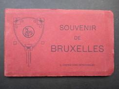 CARNET 12 CP BELGIQUE (V1708) Souvenir De BRUXELLES (1 Vue) Nels - Belgique