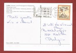 Kanu WM 98 Lofer (Autriche) Slogan Carte Postale