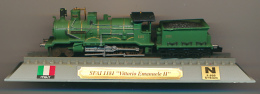 "Locomotive : SFAI 1181, ""Vittorio Emmanuele II"", DelPrado, Echelle N 1/160, G = 9 Mm, Italy, Italie - Locomotives"