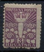PIA - YUG - Regno Dei Serbi-Croati E Sloveni : 1919 - Serie Speciale Per La Croazia E La Dalmazia - (Yv 54) - 1919-1929 Royaume Des Serbes, Croates & Slovènes
