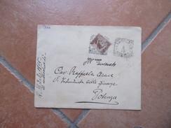 1915 Raccomandata Uso Singolo Michettei Cent.40 Busta Cassa Prov. Di Credito Agrario Per La Basilicata Il Presidente - Marcofilía