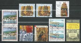 Croatia USED STAMPS.LOT - 10 Stamps - Croatia