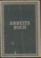 1947 East Germany DDR Leipzig Arbeitsamt Arbeits Buch Deutsche - Historical Documents