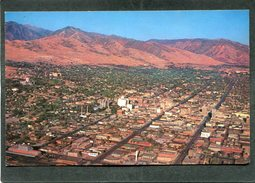 CPSM Format CPA - Air View Of SALT LAKE CITY - Salt Lake City