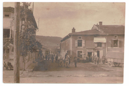 55 CARTE PHOTO  ECUREY / KANTINE / 1916 - France