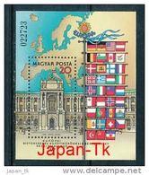 UNGARN  Mi.Nr.  Block 187 A  EUROPA -KSZE- 1986-  MNH - 1986