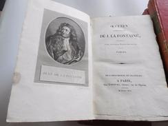 OEUVRES COMPLETES DE Jean DE LA FONTAINE 1814 CRAPELET LEFEVRE - 1801-1900