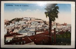 CPA LIsboa Vista Do Castello 1933 - Lisboa