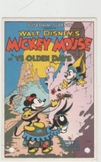 "CPM:  MICKEY MOUSE In ""ye Olden Days"".        (D 431) - Disneyland"