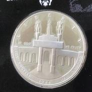 USA 1 Dollar 1984 (S) 1984 Olympics - Los Angeles SILVER - 1979-1999: Anthony
