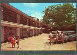 CPSM Format CPA - OAK MANOR MOTEL, 626 Central Beach Boulevard, BILOXI, Animé - Automobile - Autres