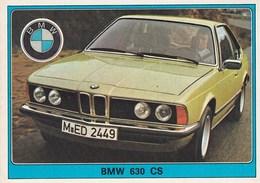 SUPER  AUTO  --  FIGURINE  PANINI  --  BMW  630  CS - Panini