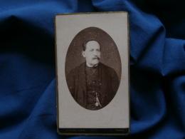 Photo CDV Picq à Paris - Portrait Homme  Vers 1880 L302B - Oud (voor 1900)