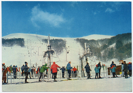 63 SUPER BESSE - A 408 - Edts Du Lys - Les Télé-skis De La Perdrix. (recto-verso) - Besse Et Saint Anastaise