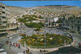 Cisiordania  - Postcard  Unused - Nablus - City Centre -  2/scans