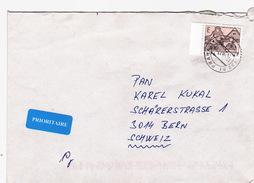 Brief In Die Schweiz (br0481) - Tschechische Republik