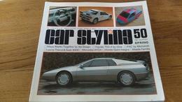 94/ CAR STYLING N° 50 1985 LANCIA THEMA SAAB 9000/ MERCEDES W124/ HONDA QUINT INTEGRA/ MAZDA FAMILIA - Livres, BD, Revues