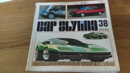 94/ CAR STYLING N° 38 1982 TOYOTA CORONA /OPEL ET PLEIN DE CONCEPT CAR ECT - Livres, BD, Revues