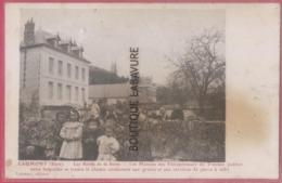 27 - CAUMONT---Les Bords De La Seine-Les Maisons Des Entrepreneurs Des Travaux Publics-conduise Aux Carrieres De Pierres - Francia