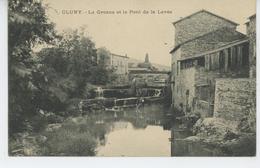 CLUNY - La Grosne Et Le Pont De La Levée - Cluny