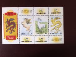 Ireland 2000 Year Of The Dragon Minisheet MNH - Nuovi