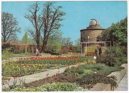 Erfurt (DDR/GDR) - Volkssternwarte / Observatory / Observatoire - Internationale Gartenbauausstellung - Sterrenkunde