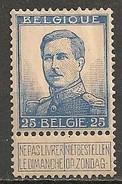 Timbres - Belgique - 1912-1913- 25 C - N° 120 - Neuf Avec Trace De Charnière -