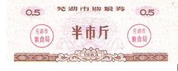 China - Food Ration Coupon - 0.5 Units 1983 - Unc - Cina