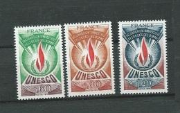 France Service Série Yvert N° 43 A 45 , 3 Valeurs  * *  - Bce 3204 - Neufs