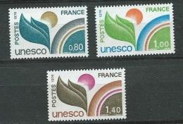 France Service Série Yvert N° 50 A 52 , 3 Valeurs  * *  - Bce 3206 - Neufs