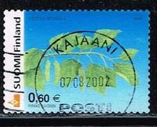 Finnland 2002, Michel# 1602 0 Silver Birch (Betula Pendula)