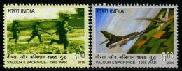 NA0203 India 2015 Kashmir War 2v MNH - India