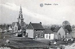 DIEGHEM DE KERK EN PANORAMA - Diegem