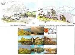 0785s: 3 AKs Scotland, Ungelaufen - Scotland