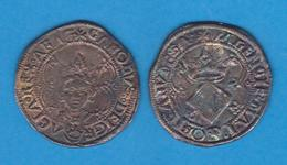 CARLOS I DE ESPAÑA (1.516 - 1.556) 2 REALES PLATA Valencia Réplica  DL-12.107 - Otras Piezas Antiguas
